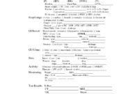 Templates Nursing Report Sheets   Shift Report Sheet for Shift Report Template