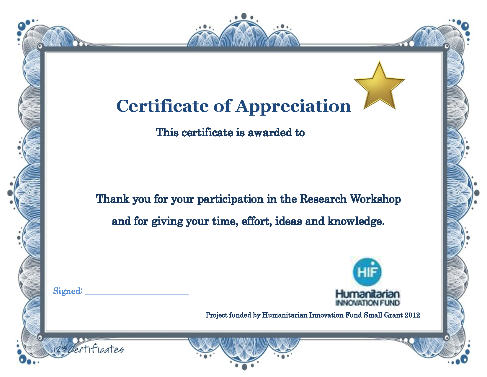 Thank You Certificate Template | Certificate Templates Pertaining To Sports Award Certificate Template Word