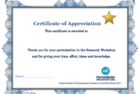 Thank You Certificate Template | Certificate Templates throughout Certificate Of Participation Template Word