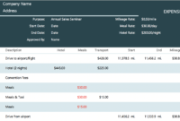 The 7 Best Expense Report Templates For Microsoft Excel for Expense Report Template Xls
