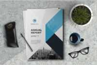The Annual Report Template #brochure #template #indesign throughout Free Annual Report Template Indesign