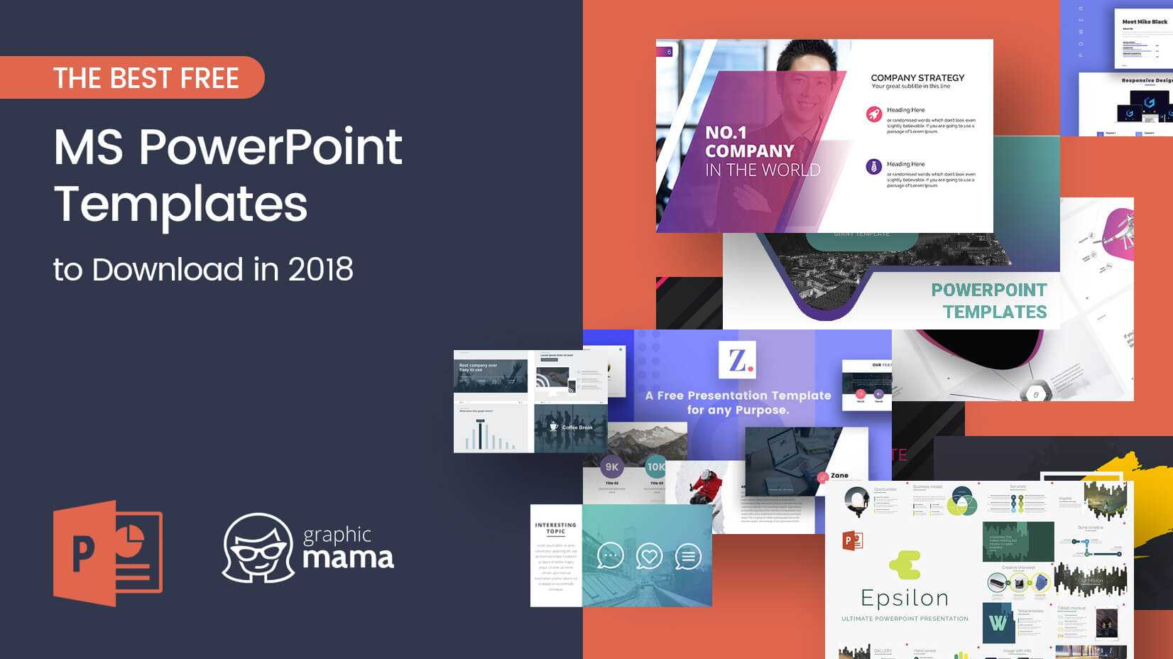 The Best Free Powerpoint Templates To Download In 2018 Within Free Powerpoint Presentation Templates Downloads