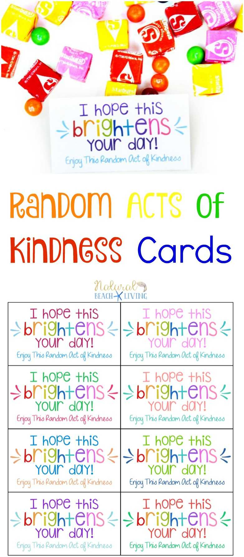 The Best Random Acts Of Kindness Printable Cards Free with regard to Random Acts Of Kindness Cards Templates