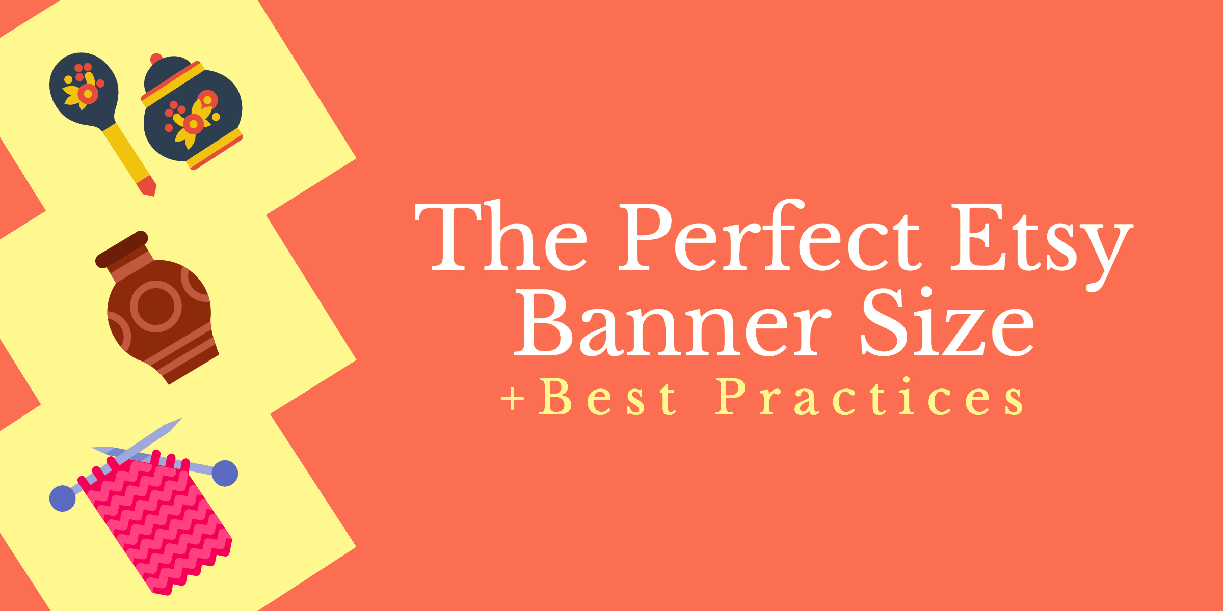 The Perfect Etsy Banner Size & Best Practices Pertaining To Etsy Banner Template