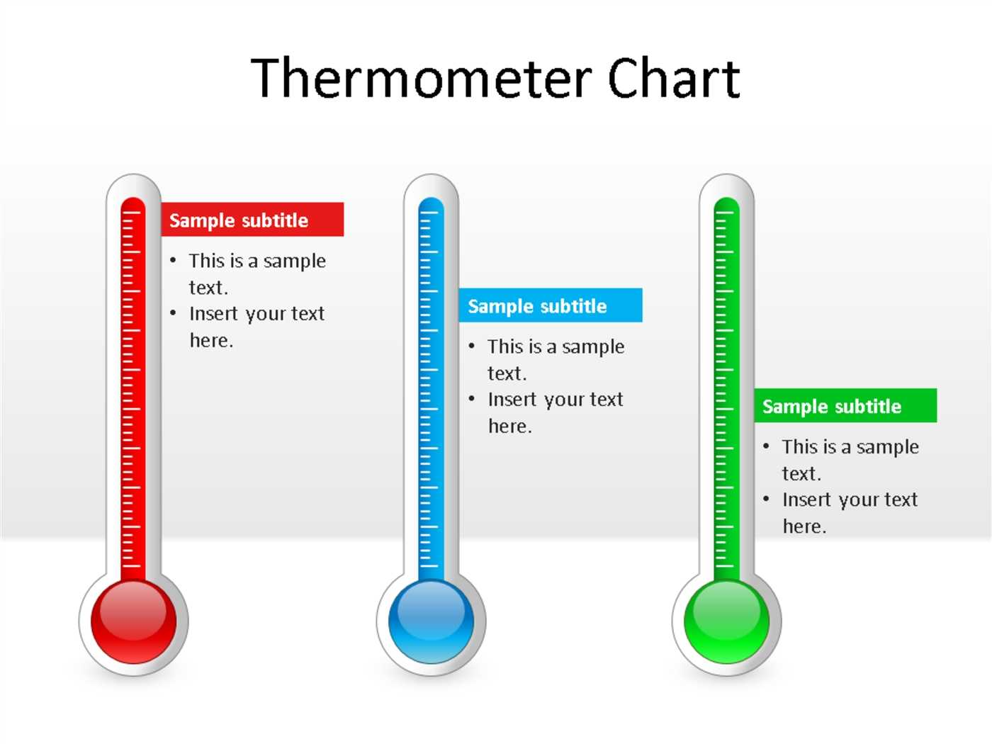 Thermometer Chart Powerpoint Template Powerpoint Throughout Powerpoint Thermometer Template