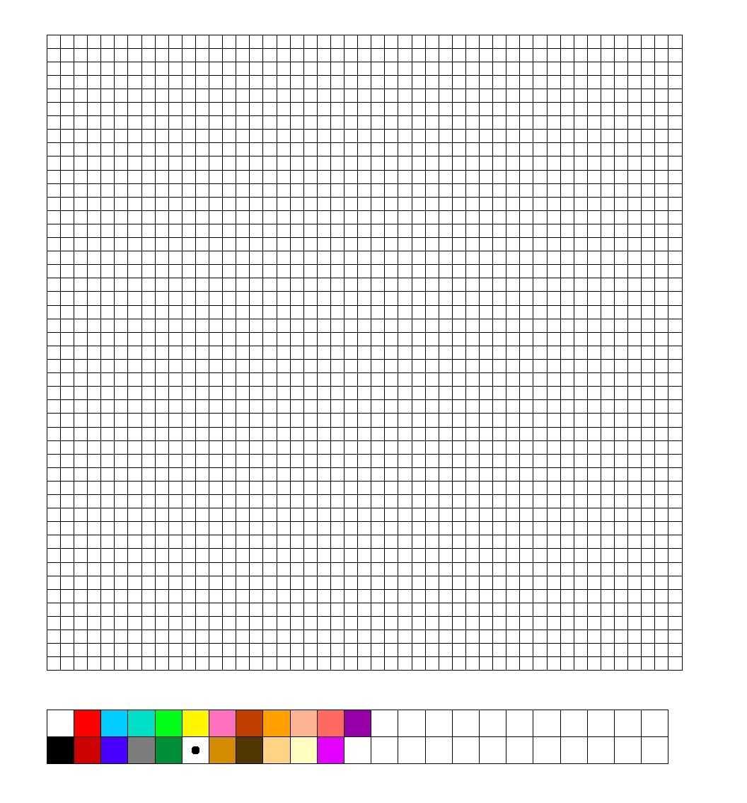 Tnk Hama : Perler Bead Blank Template | Perler Beads, Graph With Regard To Blank Perler Bead Template
