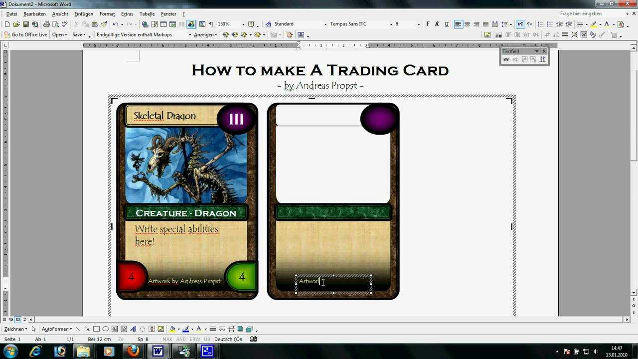 Trading Card Template Word | Template Business Pertaining To Baseball Card Template Microsoft Word