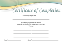 Training-Certificate-Template-Printable-Microsoft-Office-Doc intended for Microsoft Office Certificate Templates Free