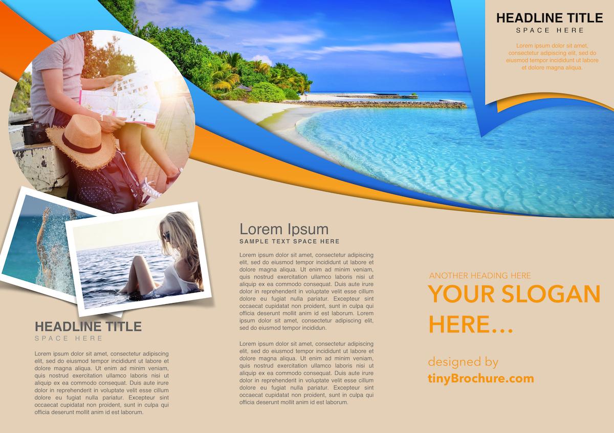 Travel Brochure Template Google Docs - Atlantaauctionco regarding Word Travel Brochure Template