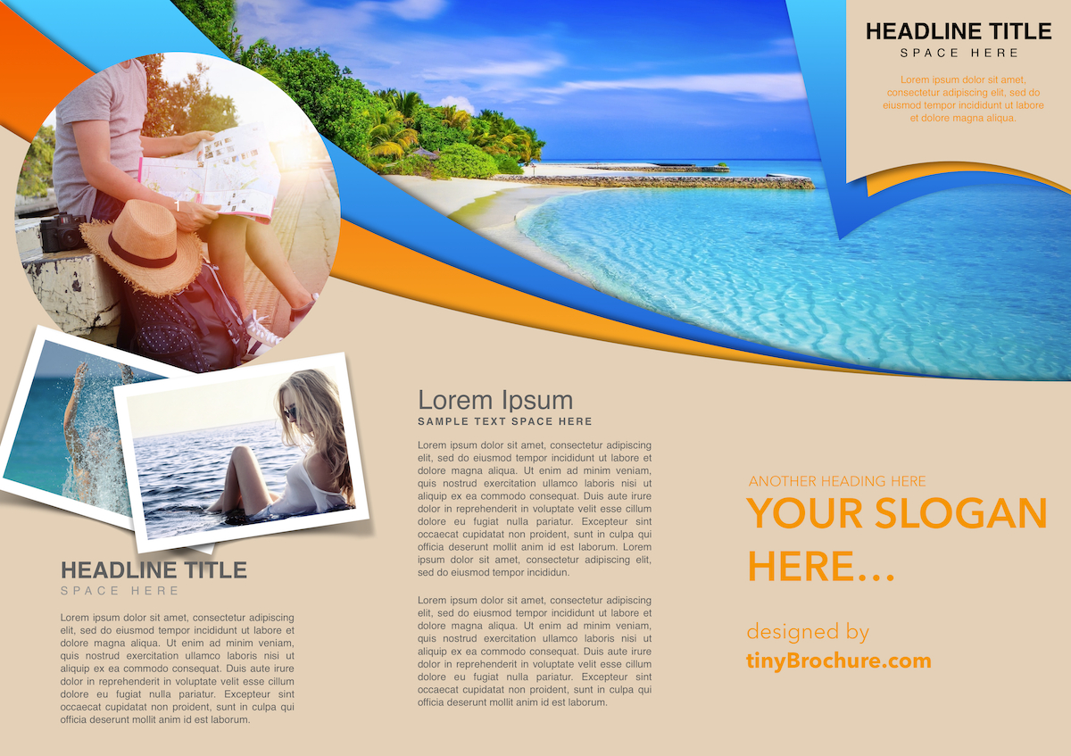 Travel Brochure Template Google Slides Inside Travel Brochure Template Google Docs