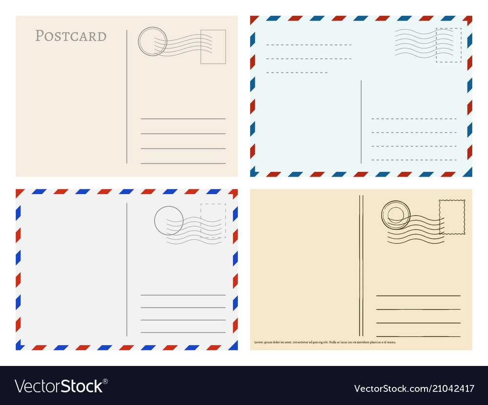 Travel Postcard Templates Greetings Post Cards Pertaining To Post Cards Template