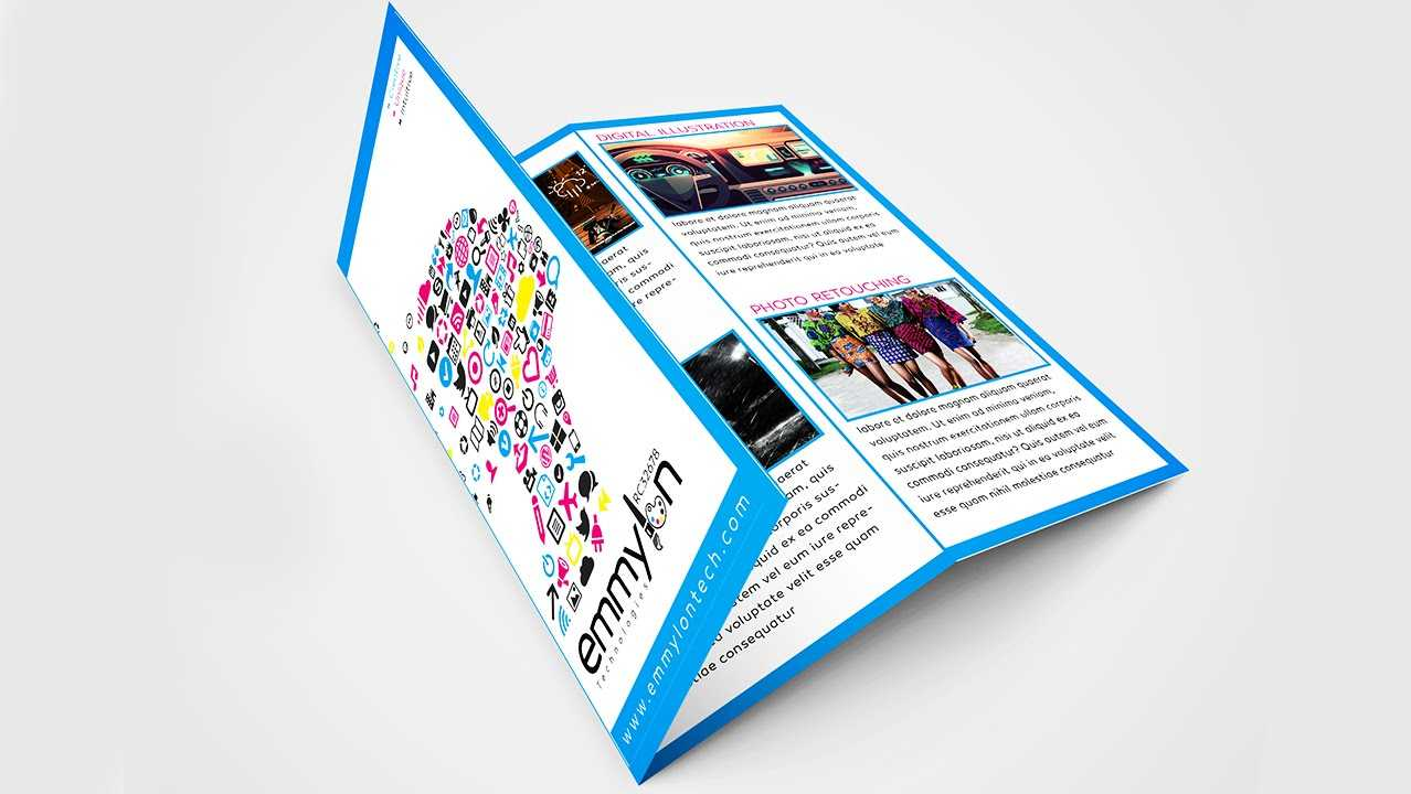 Tri Fold Brochure Design Layout | Adobe Illustrator (#speedart) pertaining to Tri Fold Brochure Template Illustrator