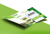 Tri Fold Brochure Template A4 Free #1502 with regard to Free Three Fold Brochure Template