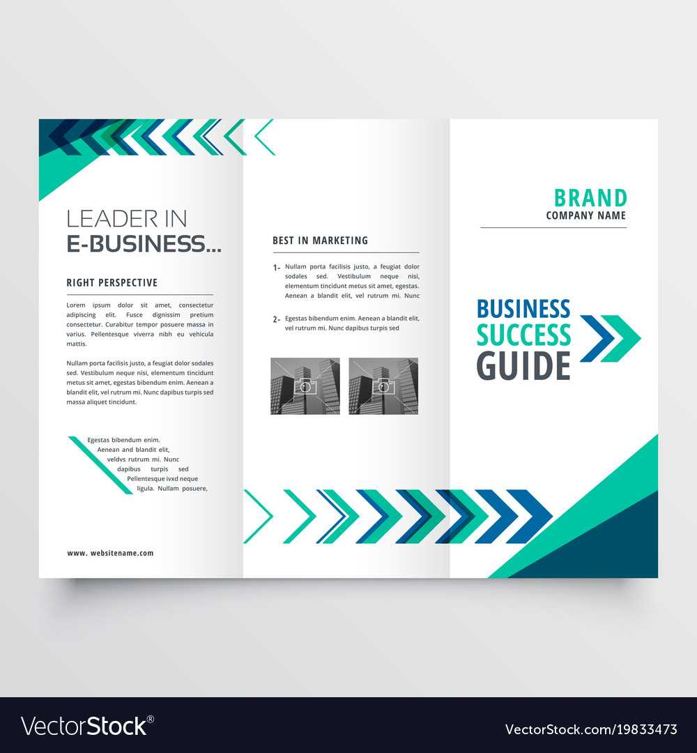 Tri Fold Brochure Template Free Download Ai Business In Ai Brochure Templates Free Download