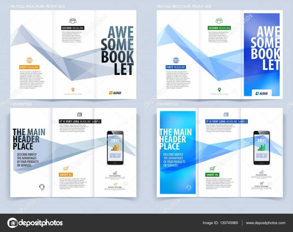 Tri-Fold Brochure Template Layout, Cover Design, Flyer In A4 throughout Engineering Brochure Templates