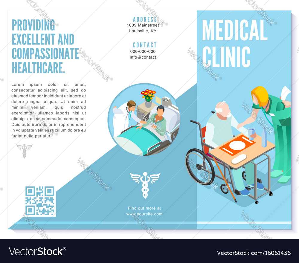 Trifold Brochure Medical Clinic Template Hospital in Medical Office Brochure Templates