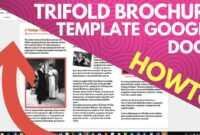Trifold Brochure Template Google Docs inside Google Docs Travel Brochure Template