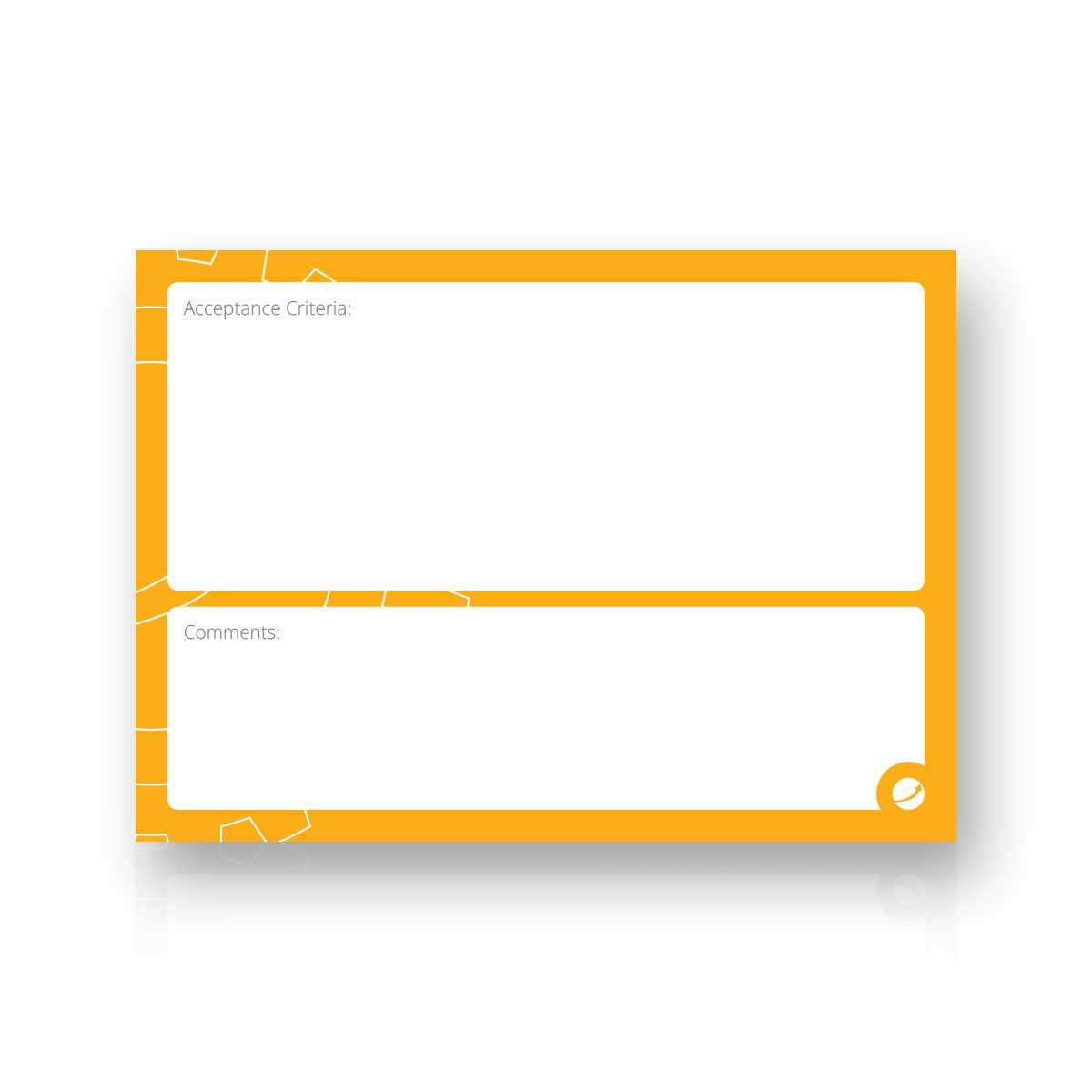 User Story Cards intended for Agile Story Card Template