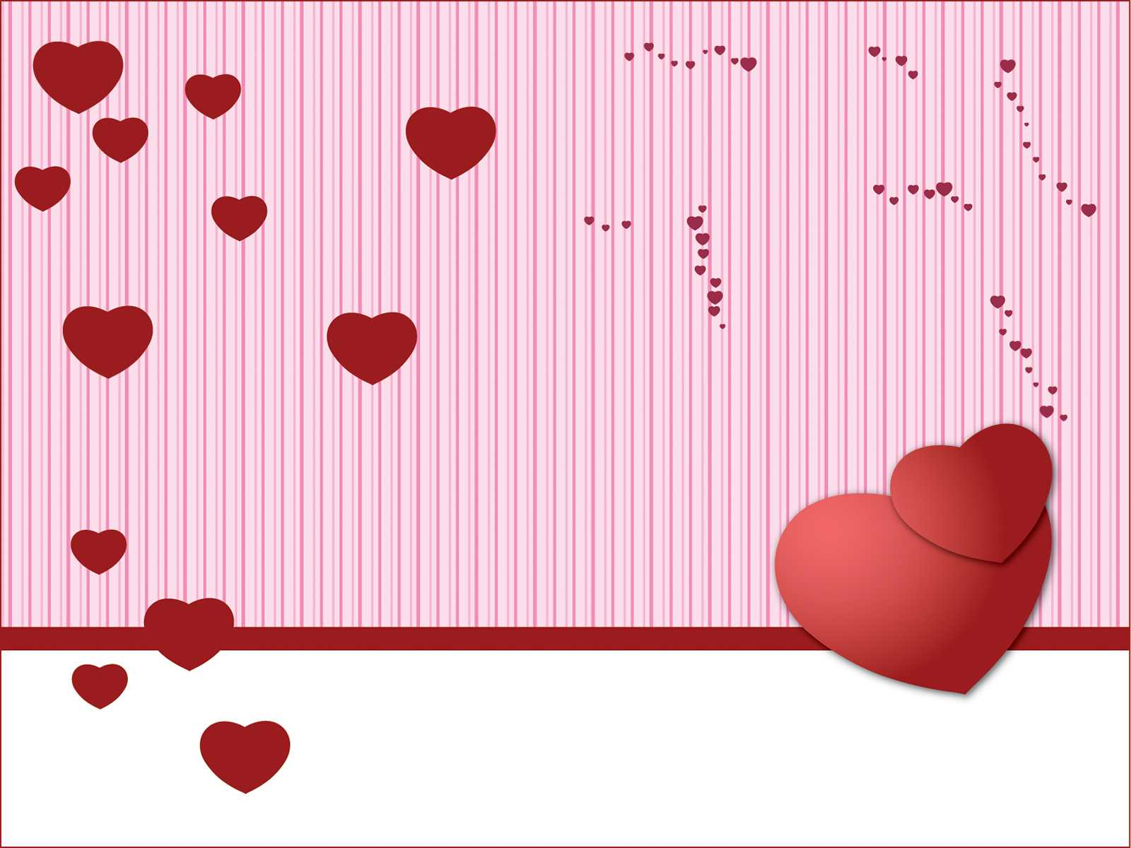 Valentine Powerpoint - Free Ppt Backgrounds And Templates in Valentine Powerpoint Templates Free