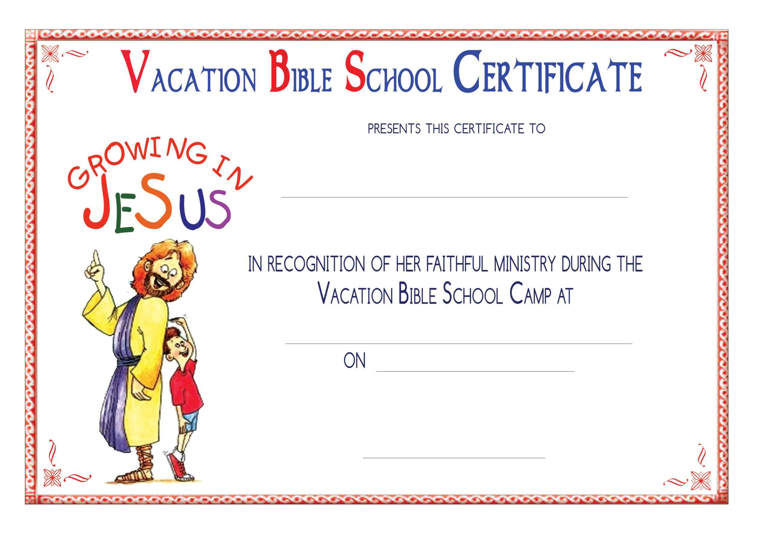 Vbs Certificate Templatesencephalos | Encephalos With School Certificate Templates Free