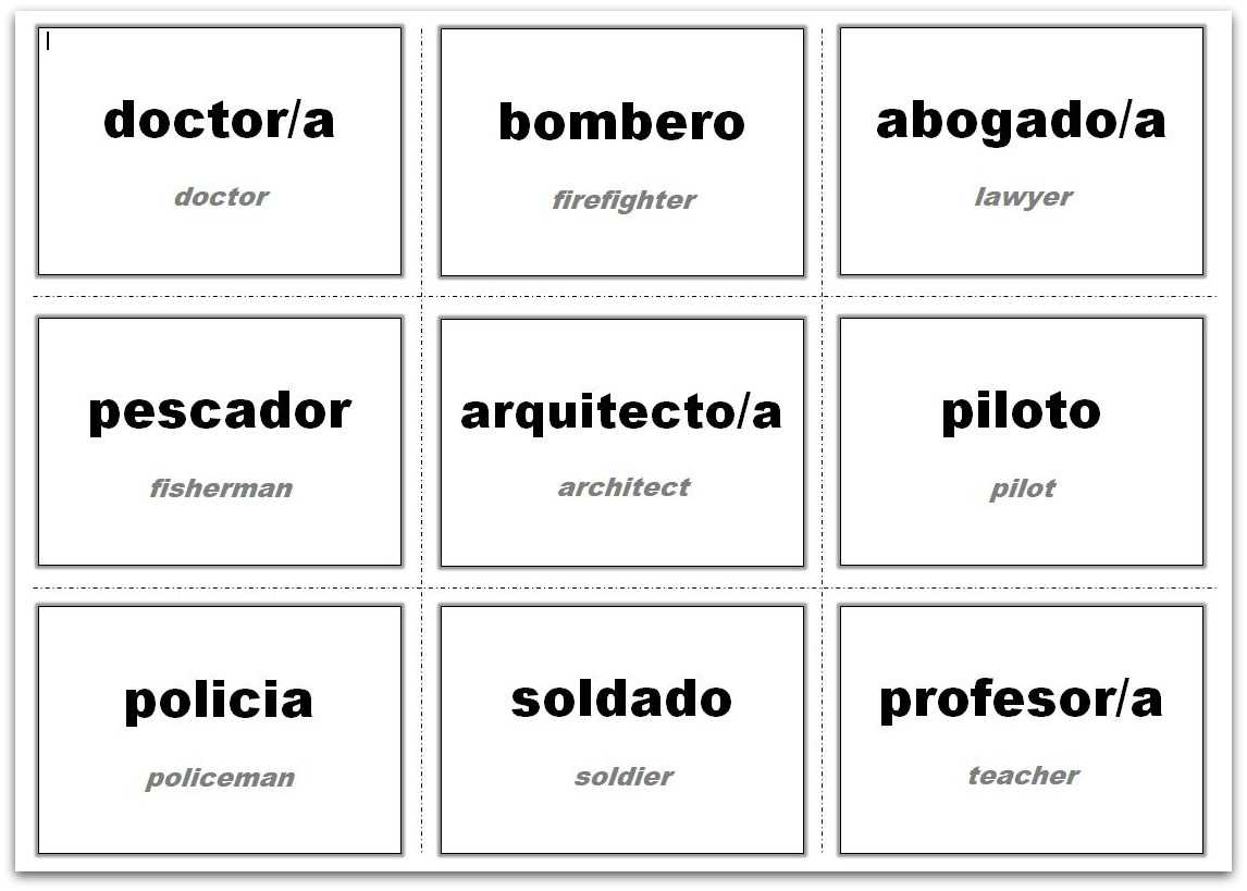 Vocabulary Flash Cards Using Ms Word With Word Cue Card Template
