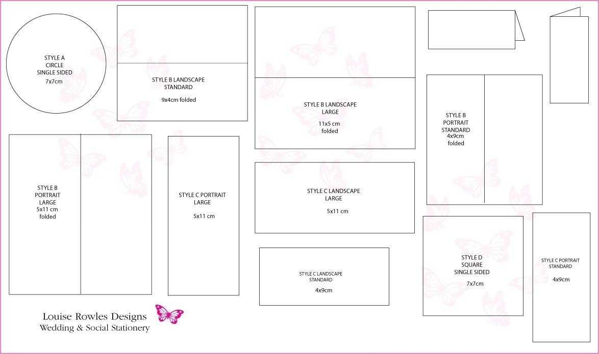 Wedding Card Template Size | Theveliger Pertaining To Wedding Card Size Template