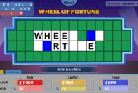 Wheel Of Fortune For Powerpoint – Gamestim inside Wheel Of Fortune Powerpoint Game Show Templates