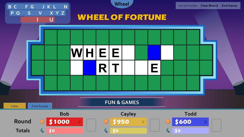 Wheel Of Fortune For Powerpoint - Gamestim throughout Wheel Of Fortune Powerpoint Template
