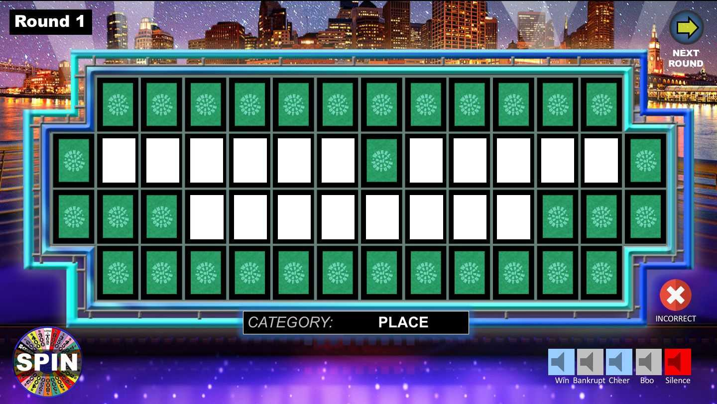 Wheel Of Fortune Powerpoint Game - Youth Downloadsyouth inside Wheel Of Fortune Powerpoint Template