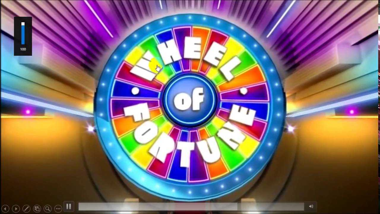 Wheel Of Fortune Powerpoint Version 2016 (Updated) for Wheel Of Fortune Powerpoint Template