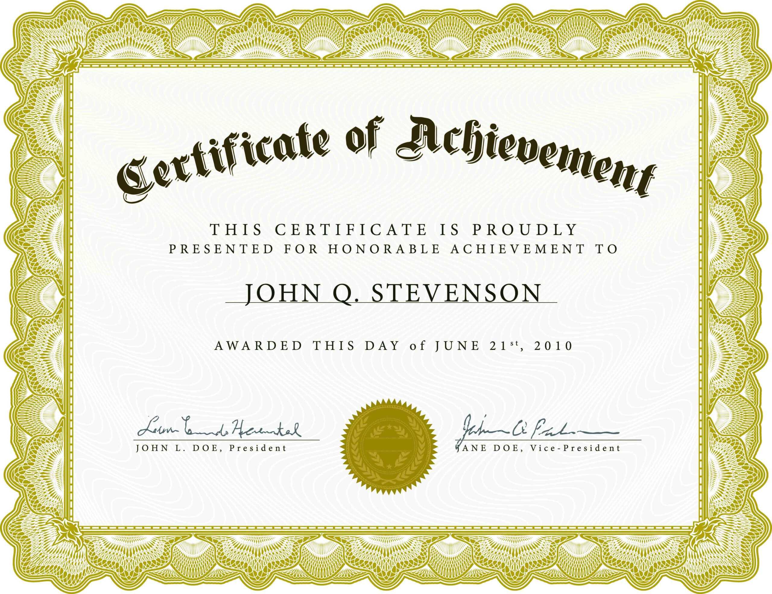 Word Award Template Printable Rental Agreement Lease inside Sports Award Certificate Template Word
