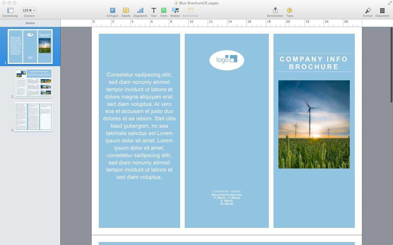 Word Brochure Template Mac Ukran Agdiffusion Com Microsoft With Regard To Mac Brochure Templates