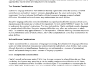 Wppsi-Iv Interpretive Report Sample with Wppsi Iv Report Template