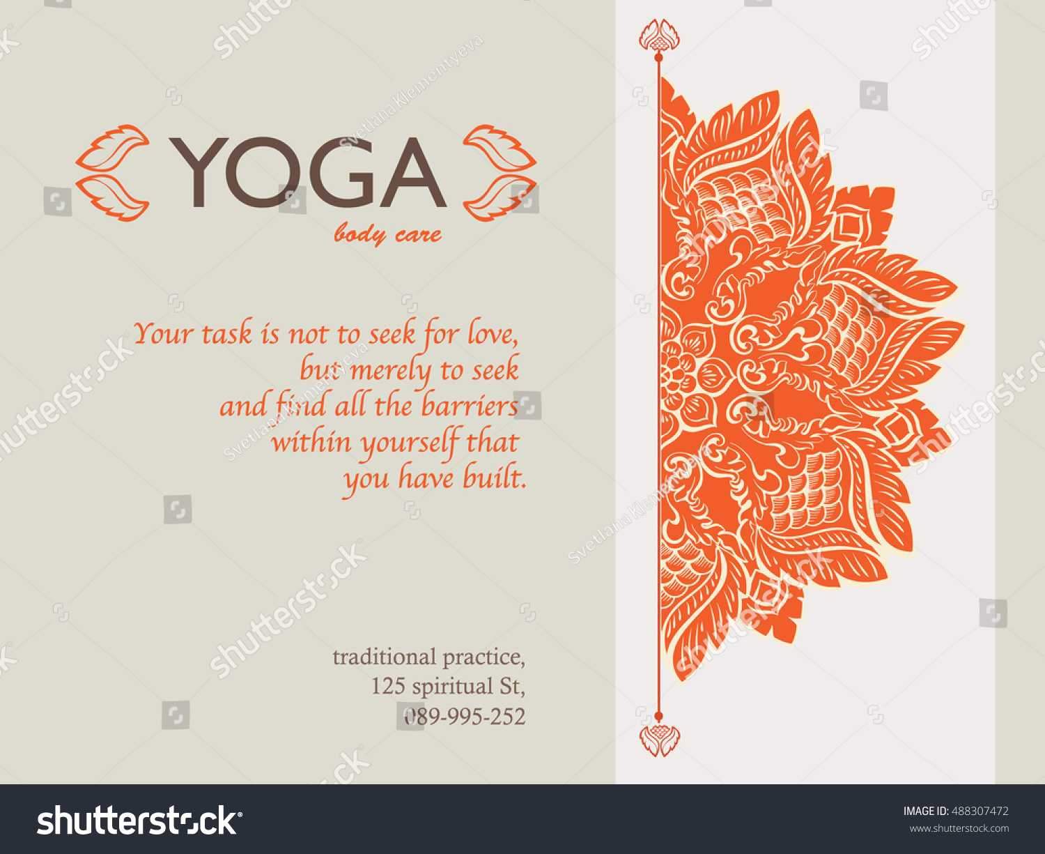 Yoga Gift Certificate Templates | Gift Certificate Templates In Yoga Gift Certificate Template Free