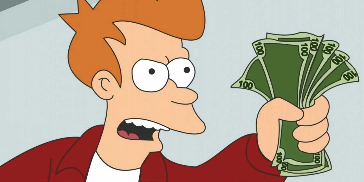"You Can Own A Futurama ""shut Up And Take My Money!"" Credit Card For Shut Up And Take My Money Card Template"