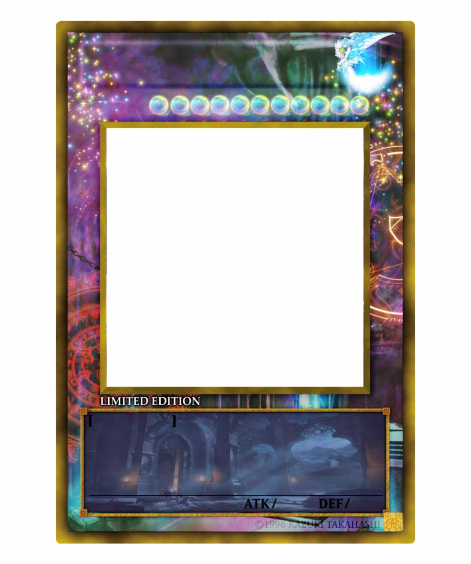 Yugioh Card Png - Yu Gi Oh Card Templates {#158219} - Pngtube Inside Yugioh Card Template