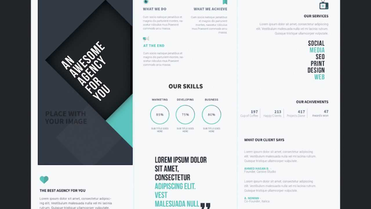 25 Tri-Fold Brochure Templates - Psd, Ai & Indd (Free intended for Brochure 3 Fold Template Psd
