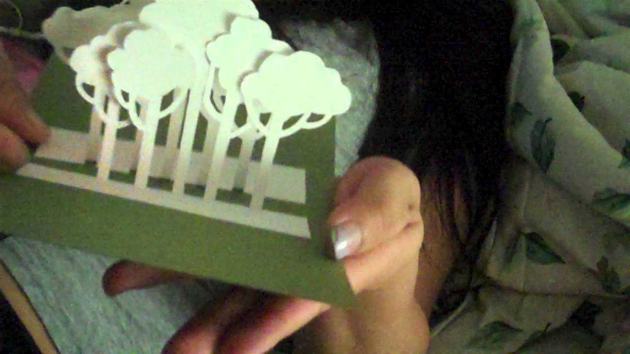 [Tutorial + Template] Tree Pop Up Card regarding Pop Up Tree Card Template